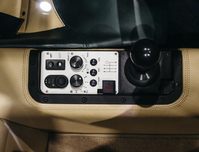 McLaren F1 GT gear select