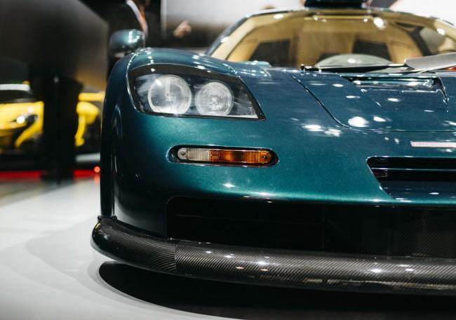 McLaren F1 GT front
