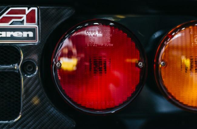 McLaren F1 GT taillight