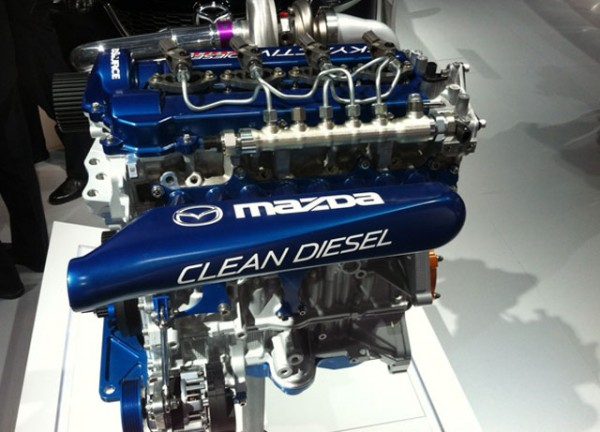 Improved Diesel Power Train by Mazda in 2020