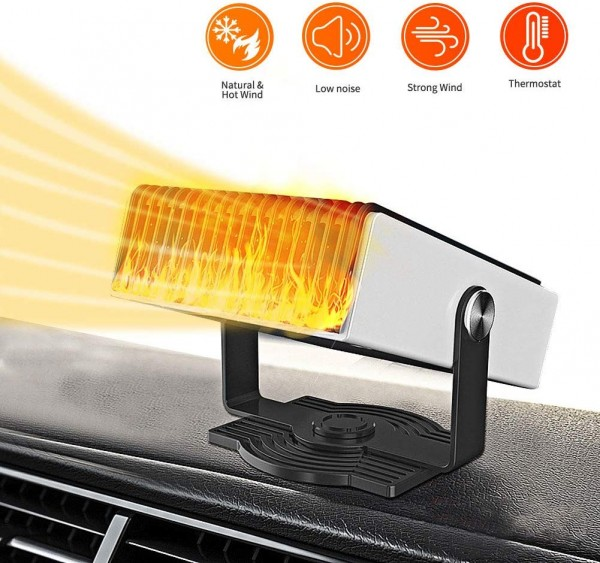 Car Essentials Review: The Best 4 Portable Car Heaters to Buy for Your Car 3