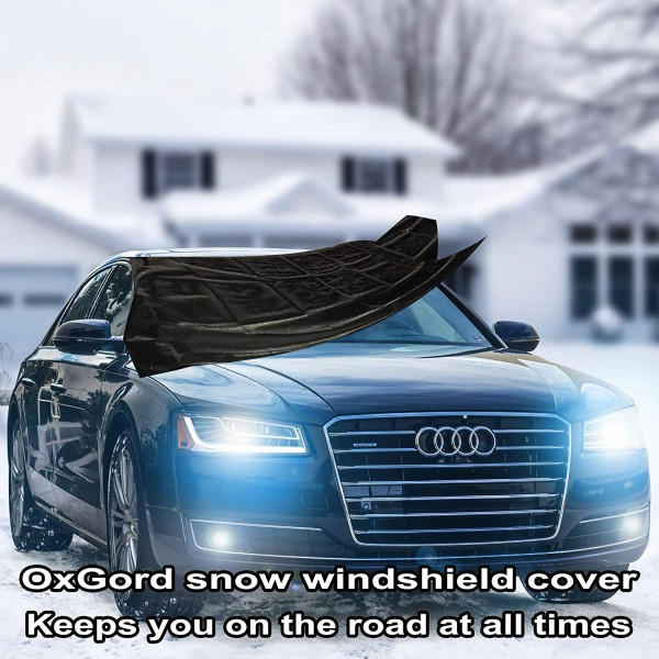 2 Winter Car Essentials: Why You Need to Get the Best Snow Windshield Cover for Your Car