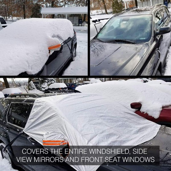 5 Winter Car Essentials: Why You Need to Get the Best Snow Windshield Cover for Your Car