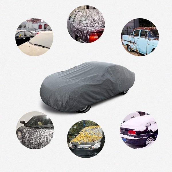 4 Secure your car with this all-season car cover, do not wait!