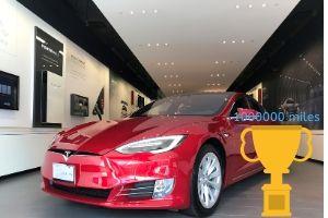 Tesla Model S Proves It Can Reach 1 Million Kilometers