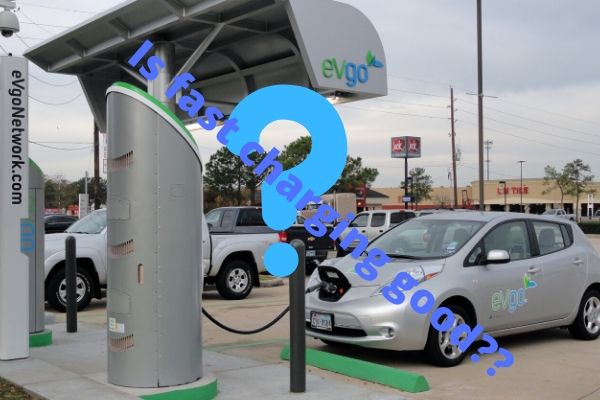 Fast Charging is Good but Not for Electric Cars