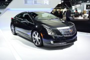 2014 Cadillac ELR The personal luxury coupe hybrid from Cadillac pulled off charcoal gray.