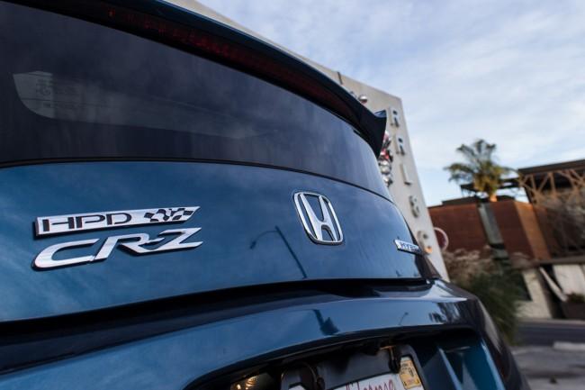 2015 Honda HPD CR-Z badge