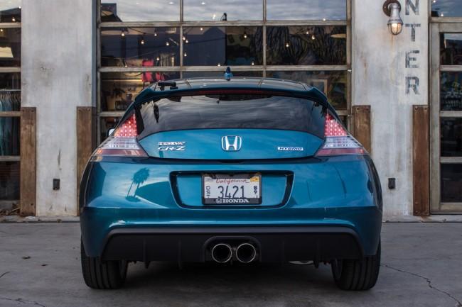 2015 Honda HPD CR-Z rear