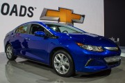 2016 Chevrolet Volt plug-in hybrid sedan