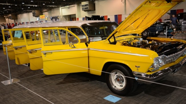 1962 Chevrolet Bel Air limousine