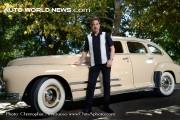 Actor Joe Mantegna and his Buick