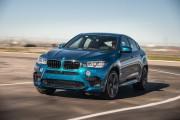 2015 BMW X6 M on track