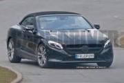 2017 Mercedes-Benz S-Class Cabriolet SPY SHOT
