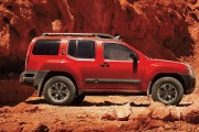 Nissan Xterra PRO-4X® shown in Lava Red