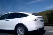 Tesla Model X prototype in California