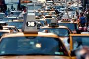 New York City traffic jam