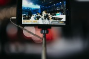 Photographing an auto show