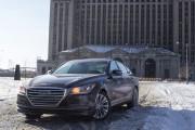 2015 Hyundai Genesis 3.8 V-6 AWD front hero