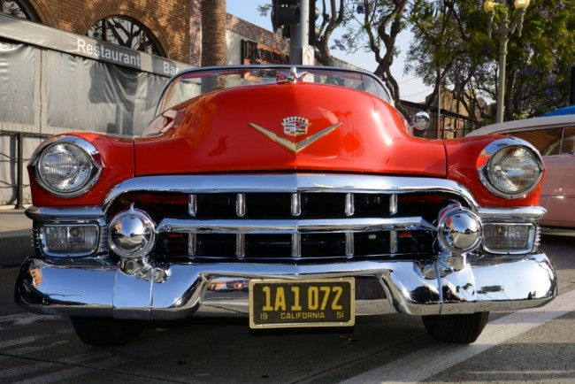 Classic car from the 2015 Culver City Car Show