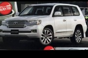 Spy image of the 2016 Toyota Land Cruiser