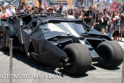 Dark Knight Rises: Batmobile and Batpod in Town
