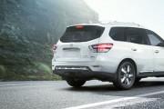 The Nissan Pathfinder hybrid SUV