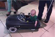 Vintage car stroller