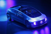 Mercedes-Benz F015 Luxury in Motion Self-Driving Car