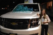 Erin Byrnes And Her Chevy Tahoe