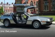 QUB Electric DeLorean