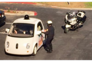 Google's Self-Driving Car Pulled Over