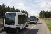 WePod Driverless Electric Shuttle