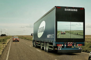 Samsung's 'Transparent' Safety Truck