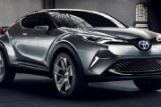 Toyota C-HR Concept Car