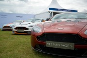 Luxury Cars Line-up At Salon Prive Event