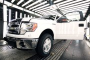 Ford Dearborn Truck Plant Builds 2014 F-150 Trucks