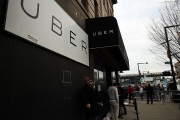 New York Uber Drivers Protest Rate Cuts