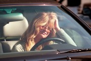 Actress Goldie Hawn Prepares To Drive Away