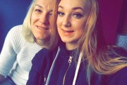 Violetta Lewandowska and her daughter, Wanessa