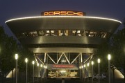 Important Buildings by Night - Porsche