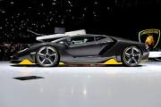 The Lamborghini Centenario in Geneva Motor Show 2016