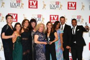 The cast of Wentworth at 2015 Logie Awards - Awards Room