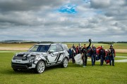 Land Rover Puts World-First Intelligent Seat Fold Technology To Extreme Test...Remotely