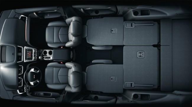 2013 GMC Acadia Interior Seating