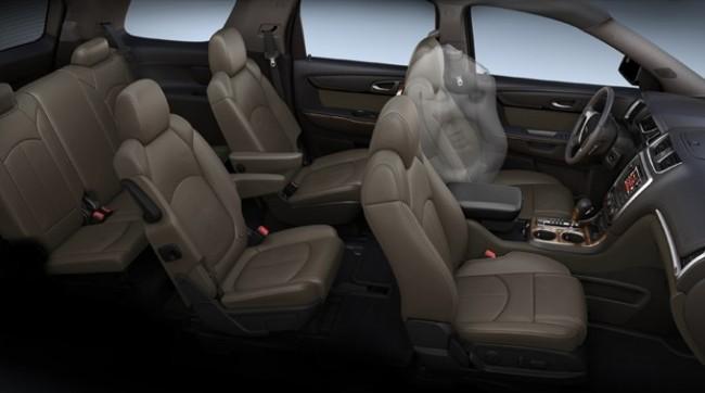 2013 GMC Acadia Airbags