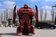 Real Transformer BMW