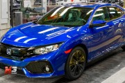 NEW HONDA CIVIC HATCHBACK 2017 - ASSEMBLY LINE