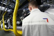 Automobile Production At PSA Peugeot Citroen Plant In Mulhouse