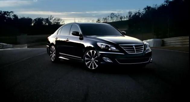 "Hyundai Genesis R-Spec, ""Faster Acting"""